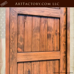 three panel custom entry door