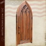 gothic style entry door