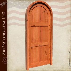 custom 3 panel entry door