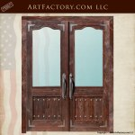 custom wood entry doors