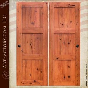 Custom Solid Wood Sliding Doors