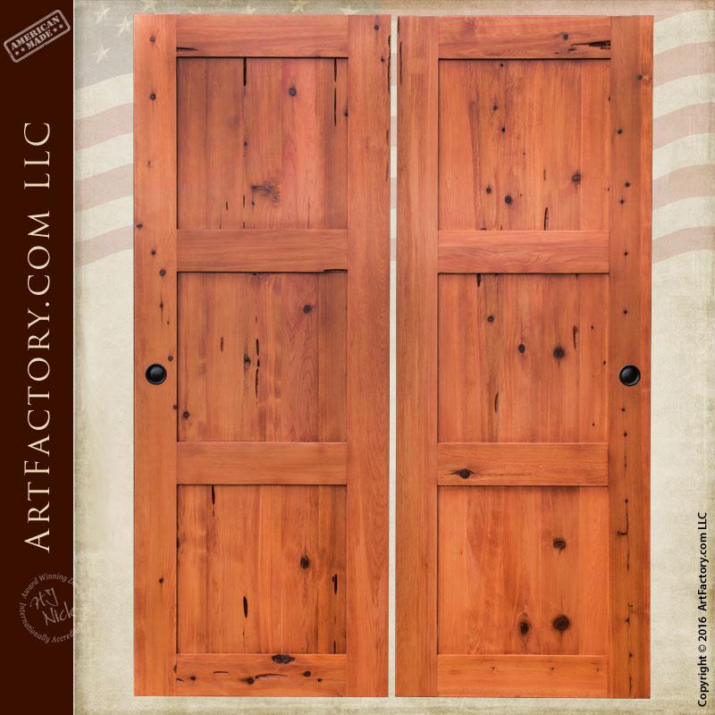custom sliding wood doors