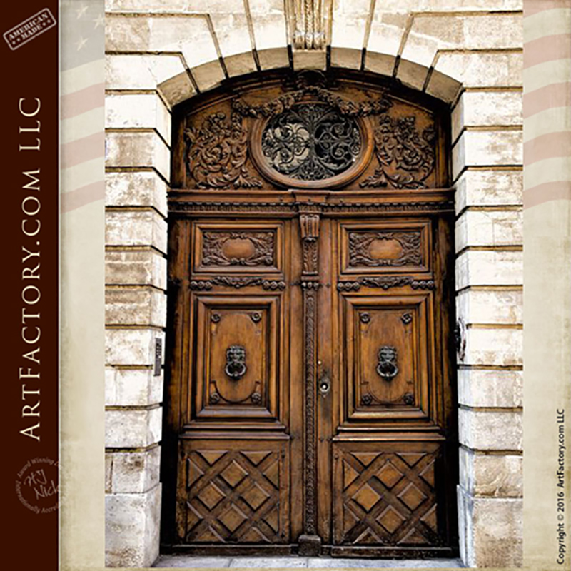 Old World Style Entrance Door Old World Style Entrance Door