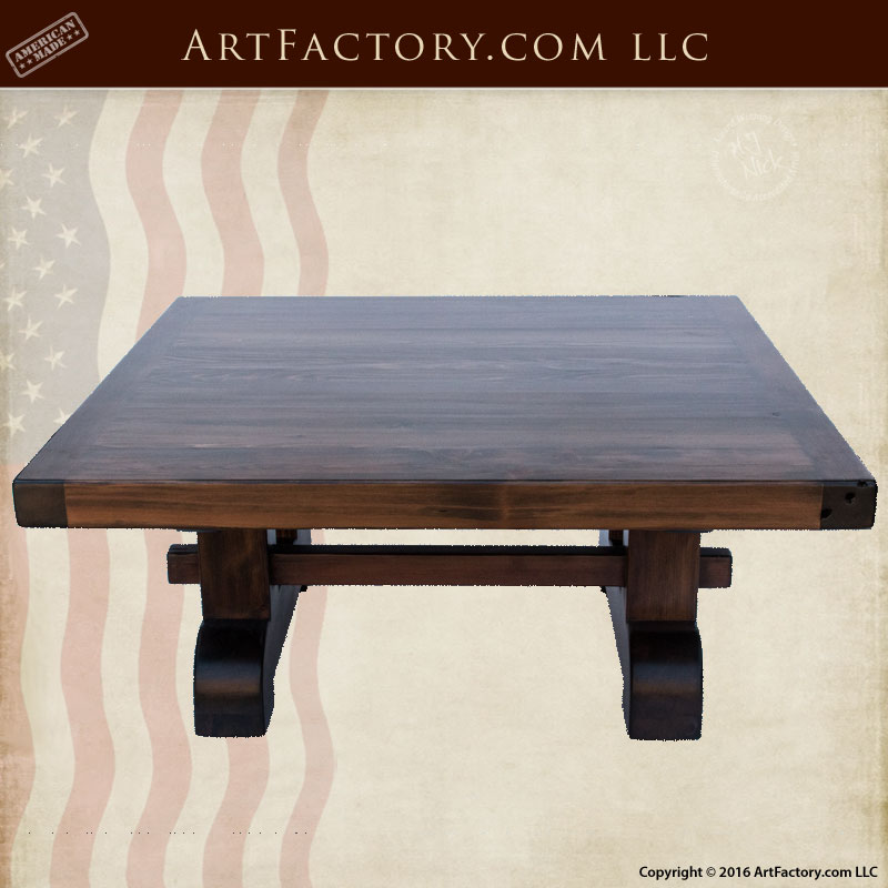 Hand made dining room furniture heavy duty country for Heavy duty living room furniture