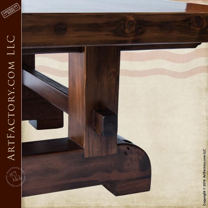Custom Built Dining Room Tables: Custom Hand Made Furniture