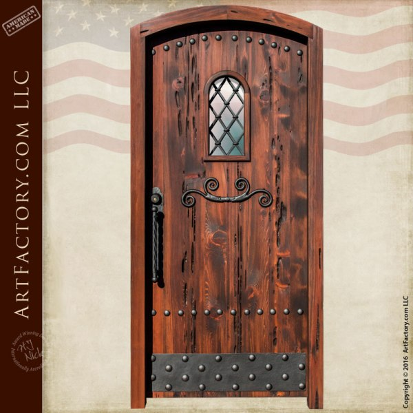 solid wood fortress door