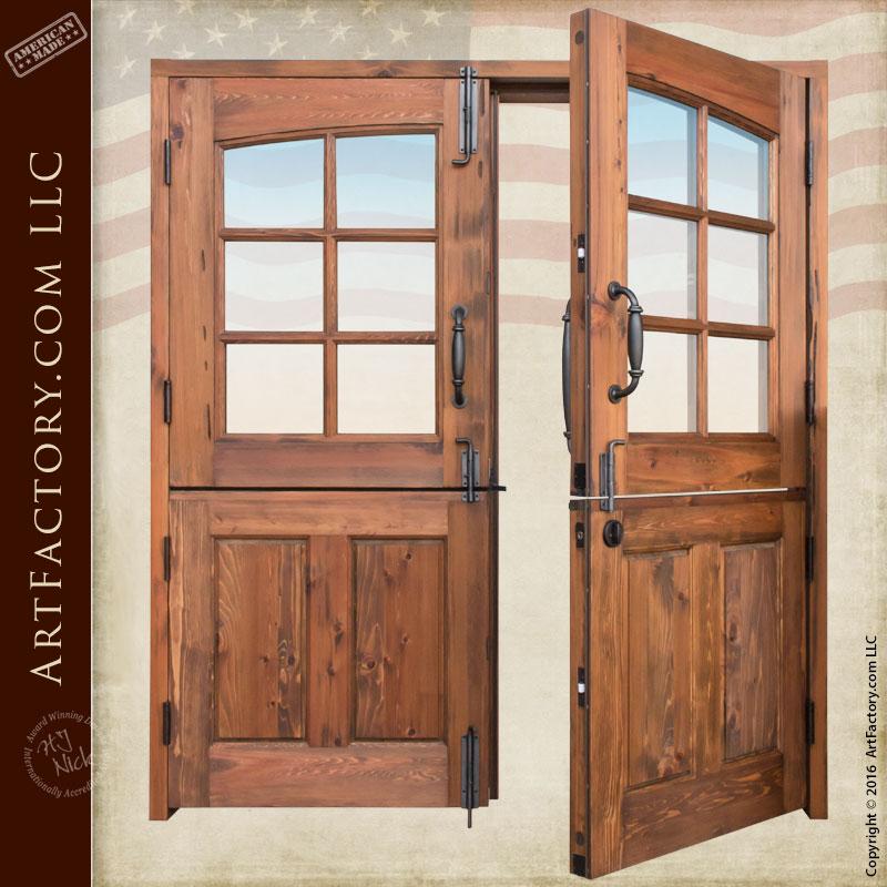 Double Dutch Front Entry Doors