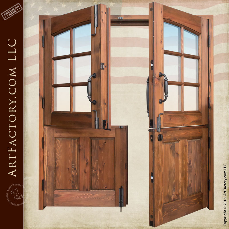 Dutch double doors