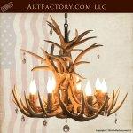 chandelier, antler custom chandelier, custom lighting