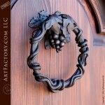 Grapevine Door Knocker, Custom Door Hardware