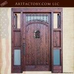 five window custom door