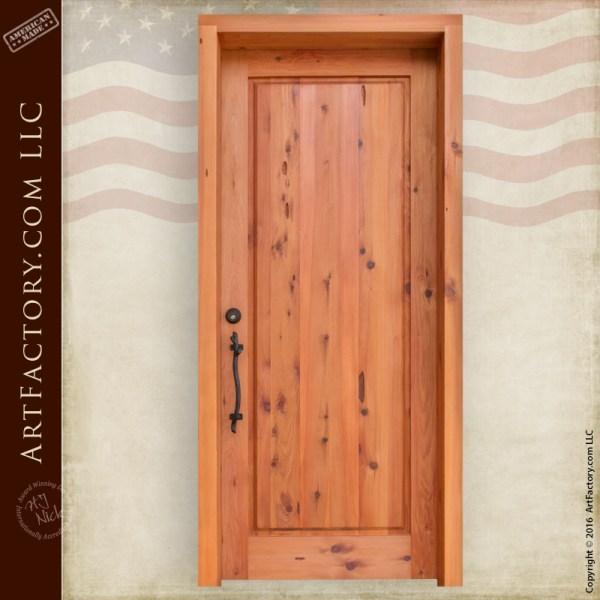 Classic Flat Panel Exterior Door