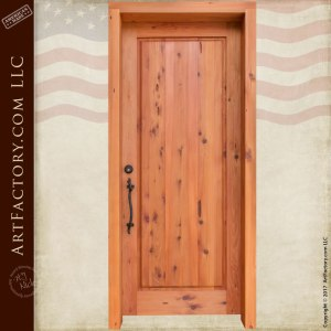 exterior custom door