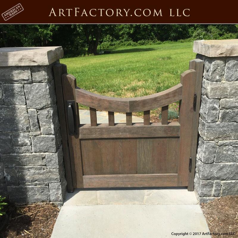 Wooden Garden Gate ...
