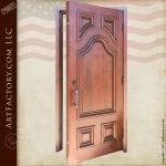 classic solid wood door