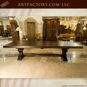 custom solid wood dining table