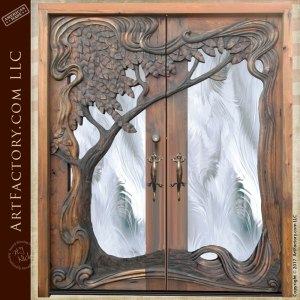hand carved door, theme doors