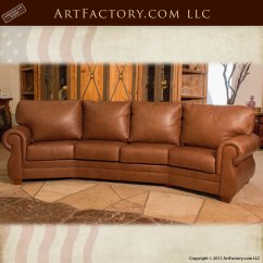 Long Chair Couch Sofa Fold Up Reclining Lawn Chairs Custom Leather Sofas Fine Art Couches And Lounge Full Grain Roll Arm Style Curved Cls8902