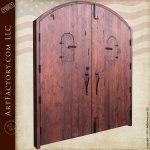 solid wood security doors