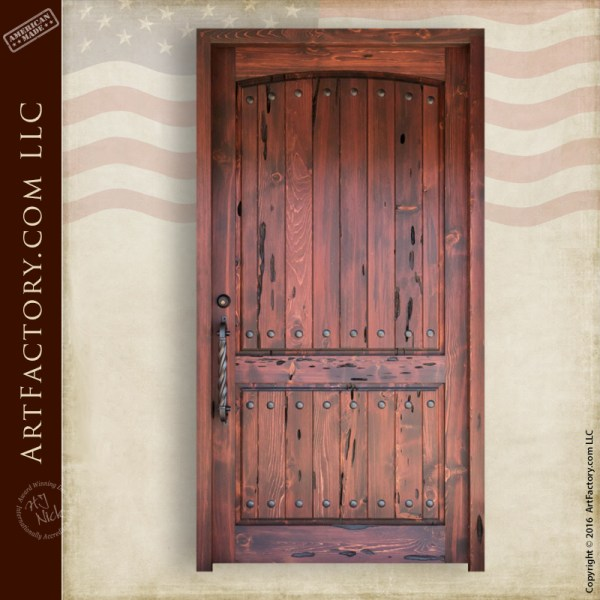 Castle Entrance Door Solid Wood Doors Handmade In Old World Craft