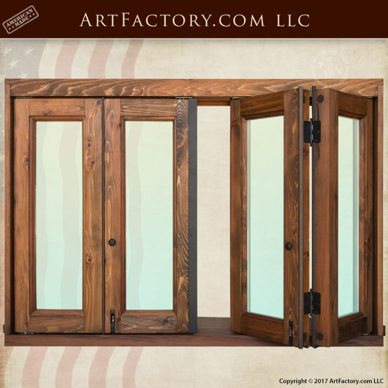 custom bi-fold windows