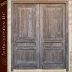 double entry doors, custom solid wood doors