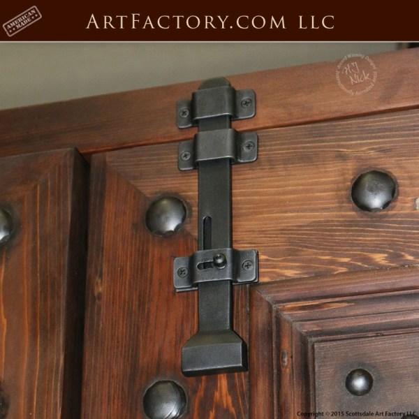Bedroom Design Cozy Bedroom Door Handles With Locks Carpet For Bedroom Bedroom Lighting Lamps: Spanish Renaissance Style Door: With Hand Forged Iron Hardware