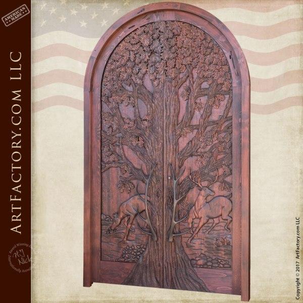 Lodge and Log Home Doors
