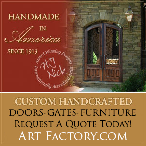 custom handcrafted doors