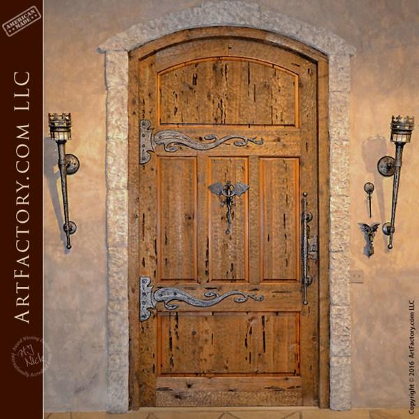 custom medieval castle door