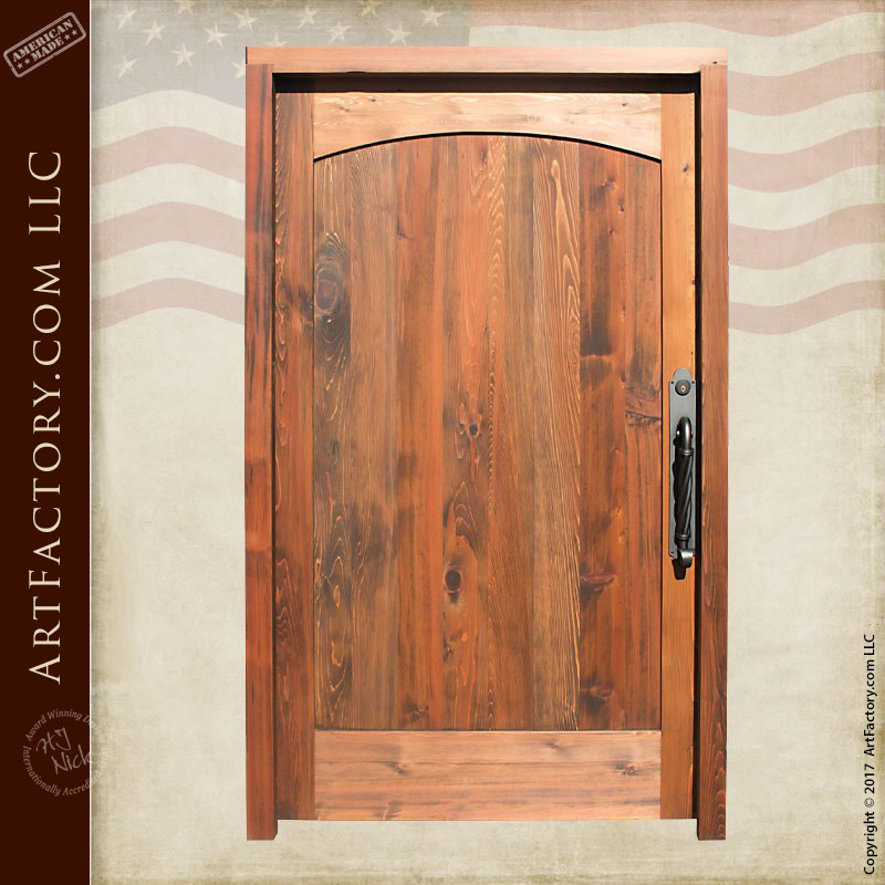 custom solid wood doors