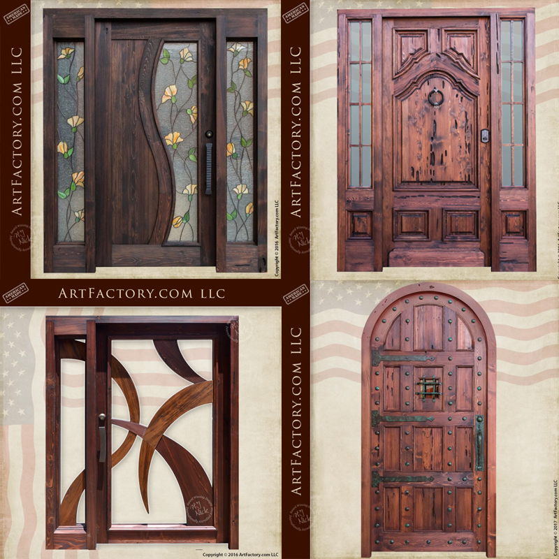 Art Factory Home Custom Solid Wood Doors And Master Handcrafted