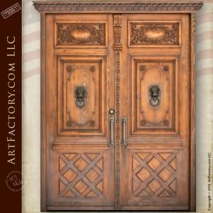 castle style double doors