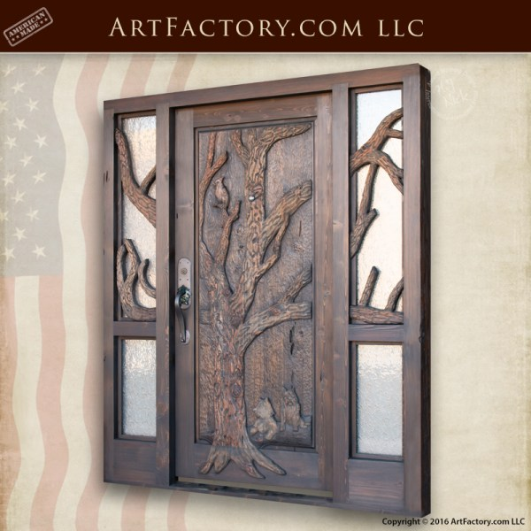 oak tree theme door