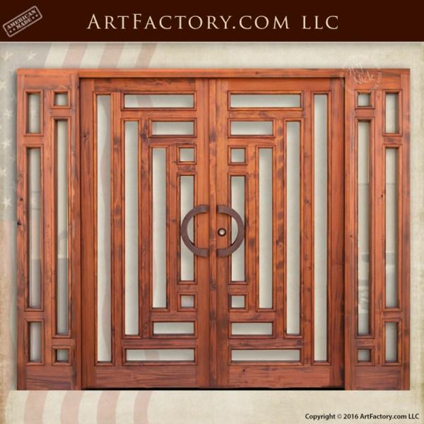 craftsman double doors