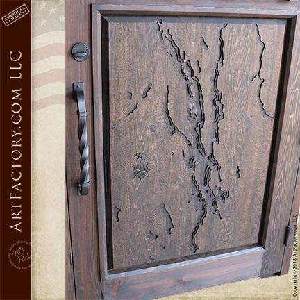 Candlewood Lake door