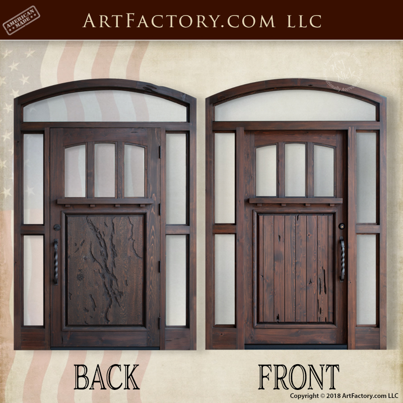 Candlewood Lake inspired door