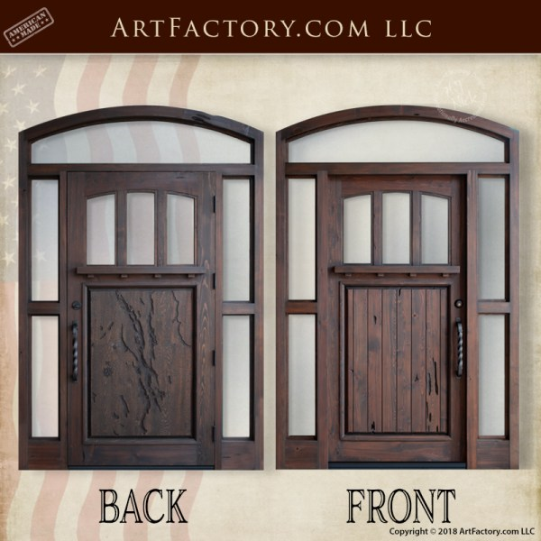 Candlewood Lake inspired door