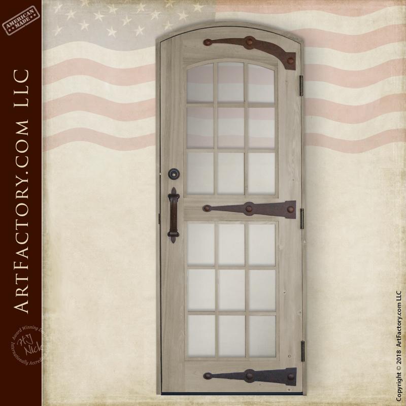 semi-arched top custom door