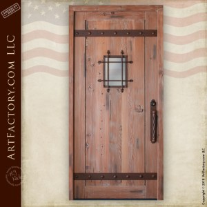 medieval fortress door
