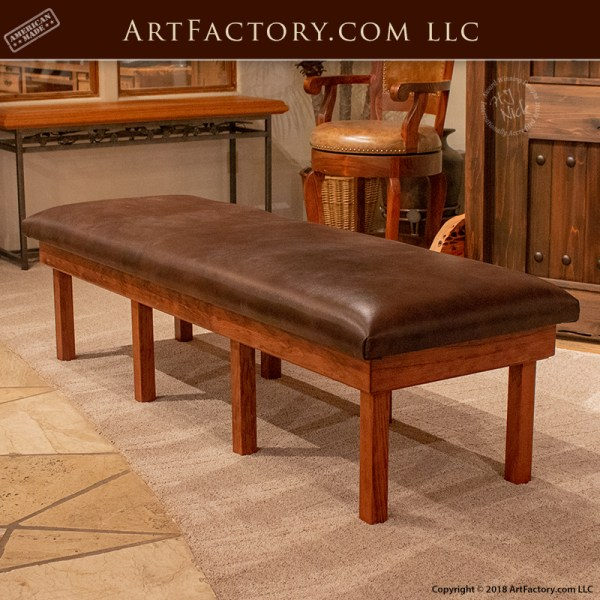Prime Custom Cherry Wood Workout Bench For Home Or Professional Gym Dailytribune Chair Design For Home Dailytribuneorg
