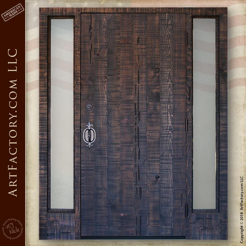 custom gothic front door