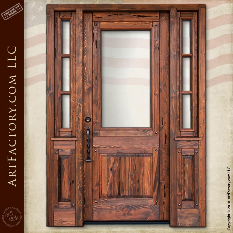 handmade craftsman door