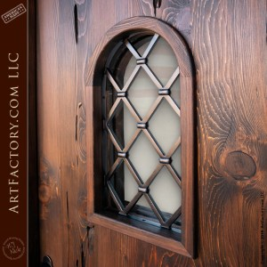 gothic inspired custom door