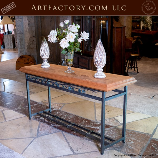 custom foyer table