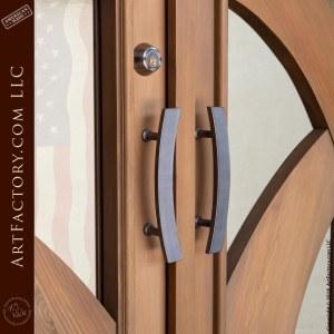 modern Art Deco door handles