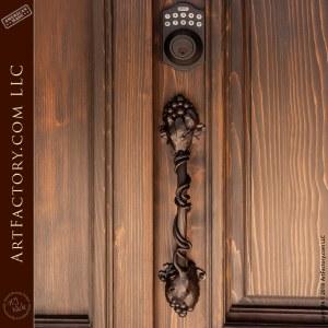 twisted grapevine door handle