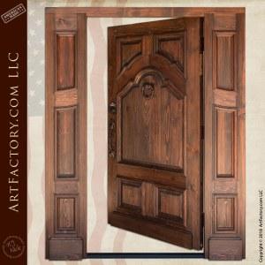 Double Door with Grapevine Hardware
