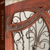 Jules Lavirotte Grape Vine Double Door