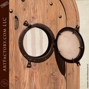 Nautical Themed Door with Porthole